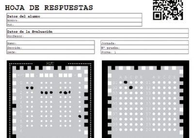 Generador de pruebas y hojas de respuesta